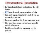 extraterritorial jurisdiction