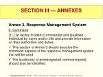 section iii annexes40
