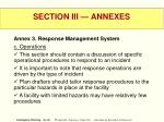 section iii annexes44