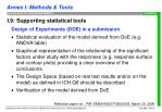 i 9 supporting statistical tools16