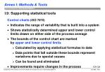 i 9 supporting statistical tools3