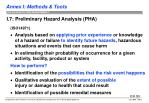 i 7 preliminary hazard analysis pha