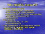 why marpol annex vi