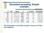 simulated annealing simple example40