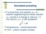 simulated annealing36