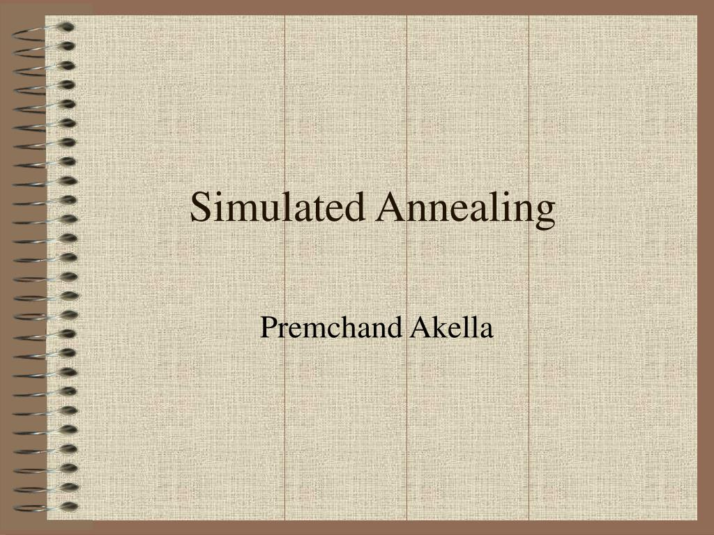 simulated annealing l.