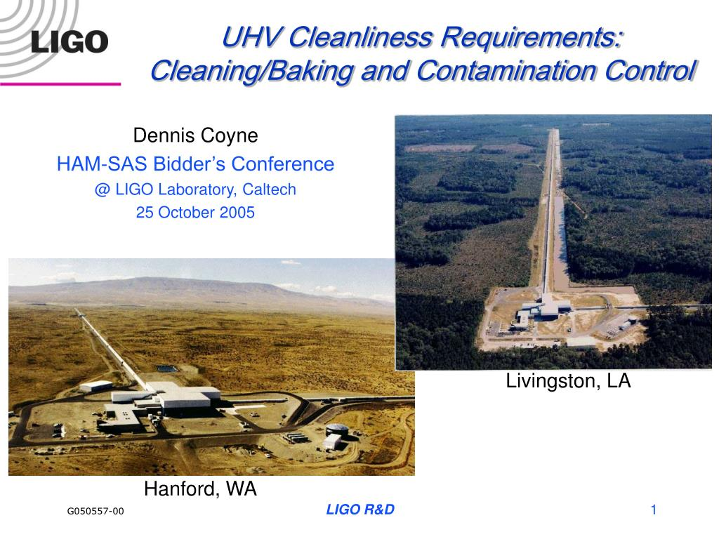 uhv cleanliness requirements cleaning baking and contamination control