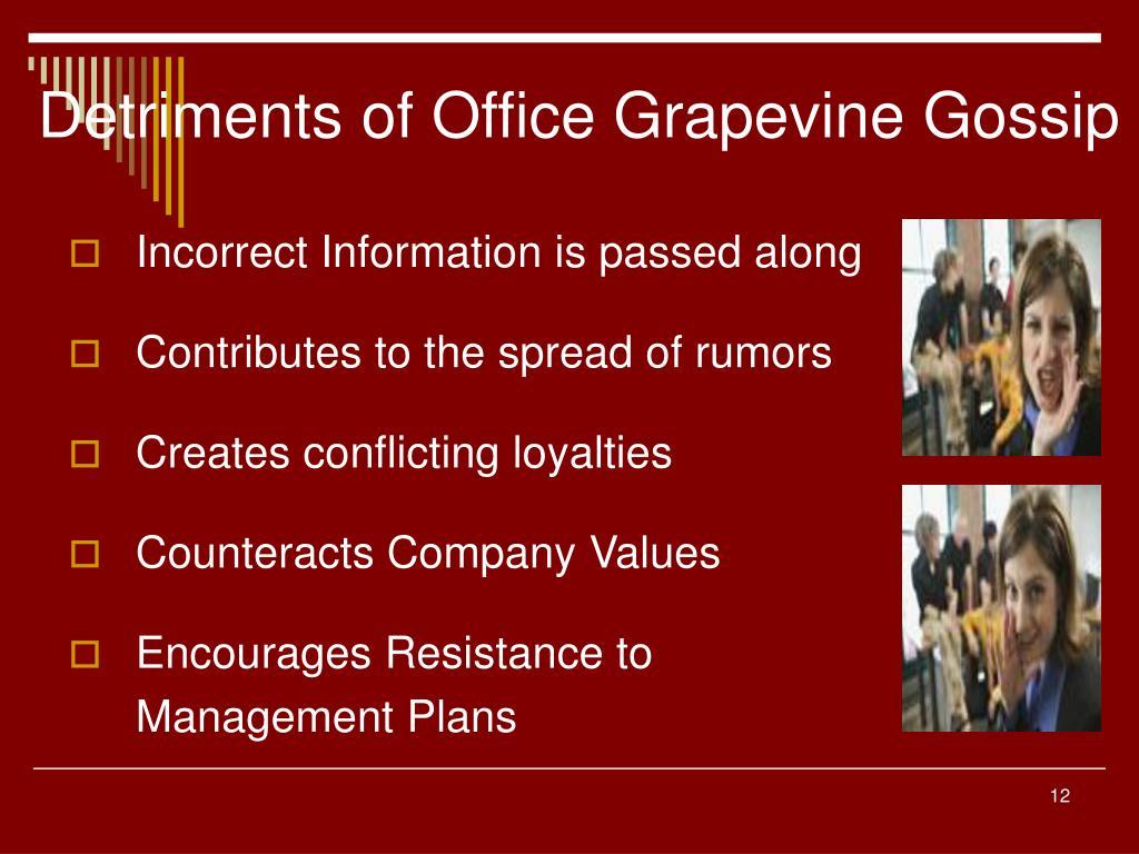 grapevine gossip