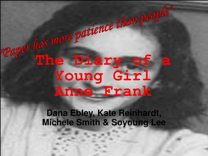 the diary of a young girl anne frank n.