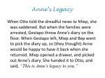 anne s legacy