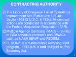 contracting authority