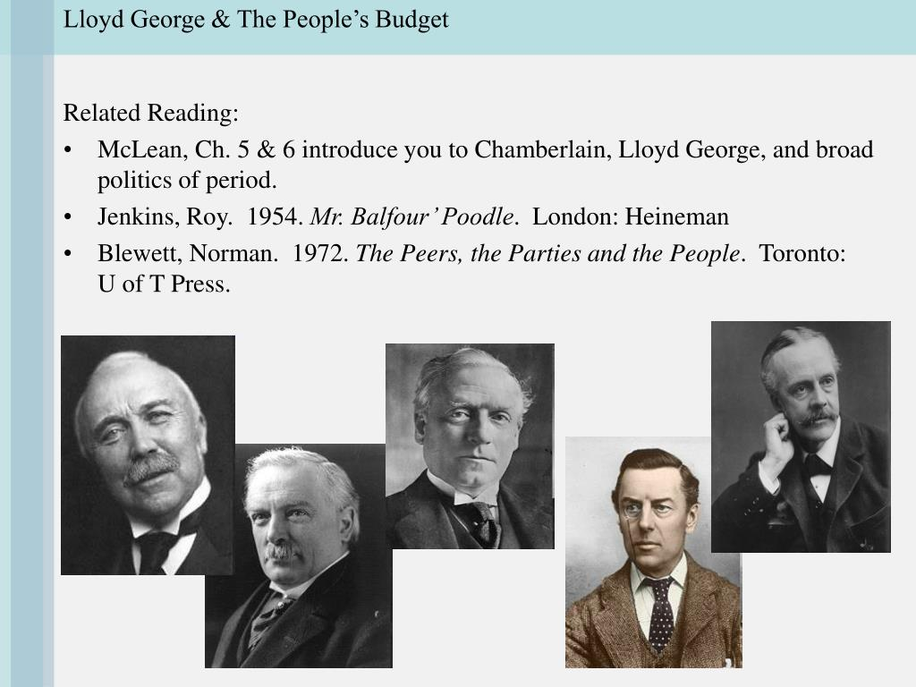 lloyd george the people s budget l.