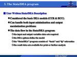 3 the stata dea program