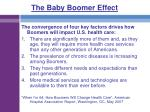 the baby boomer effect49