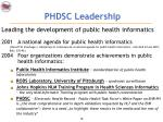 phdsc leadership11