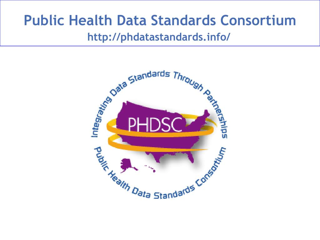 public health data standards consortium l.