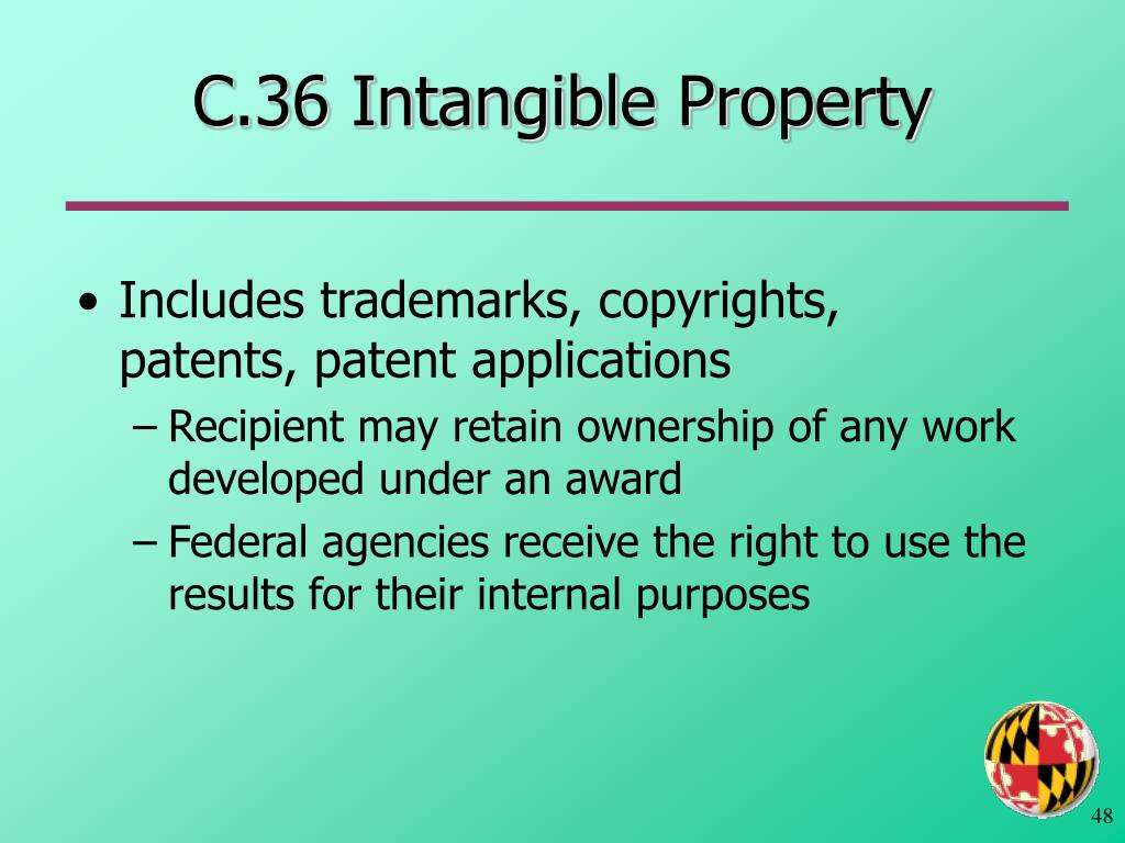 C.36 Intangible Property
