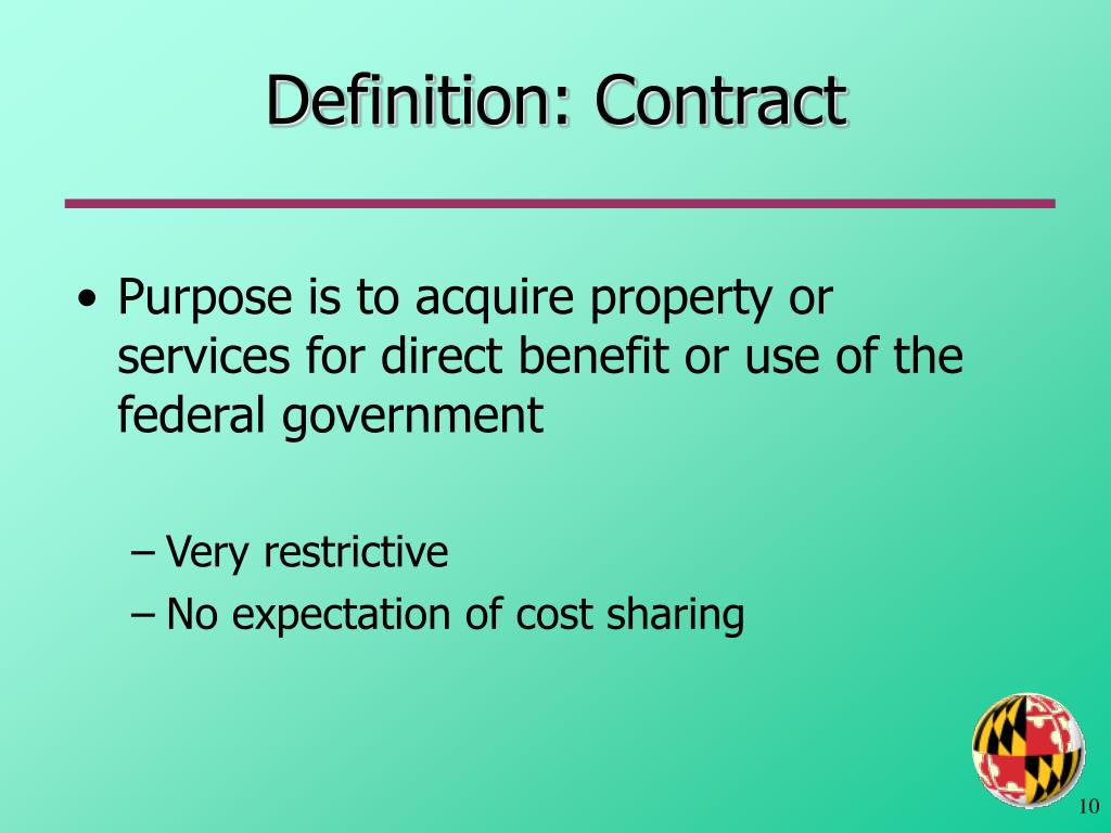 Definition: Contract