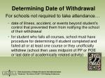 determining date of withdrawal10