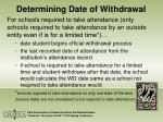 determining date of withdrawal12