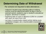 determining date of withdrawal9
