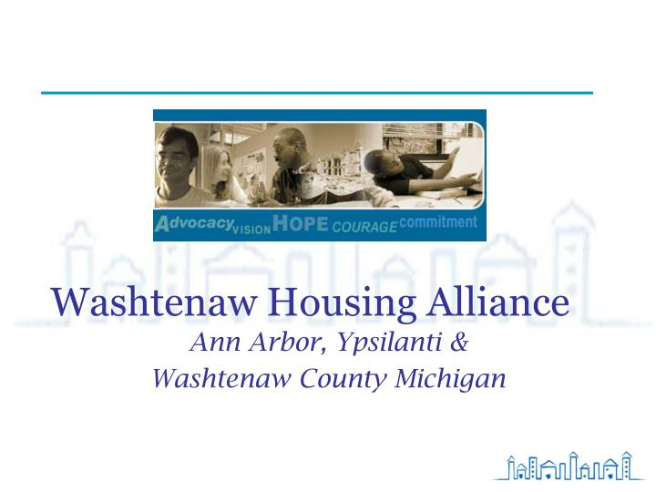 Washtenaw housing alliance