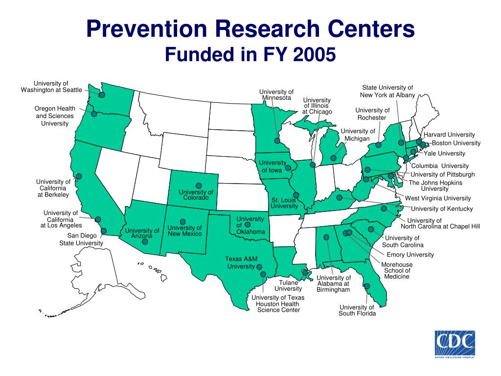 Prevention Research Centers