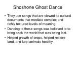 shoshone ghost dance