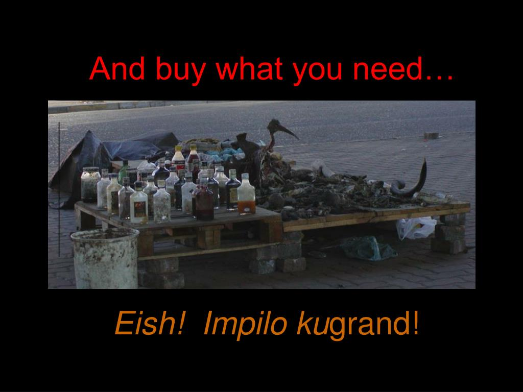 And buy what you need…