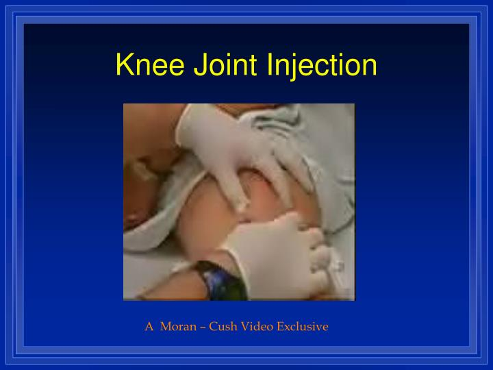 Knee Joint Injection