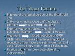 the tillaux fracture