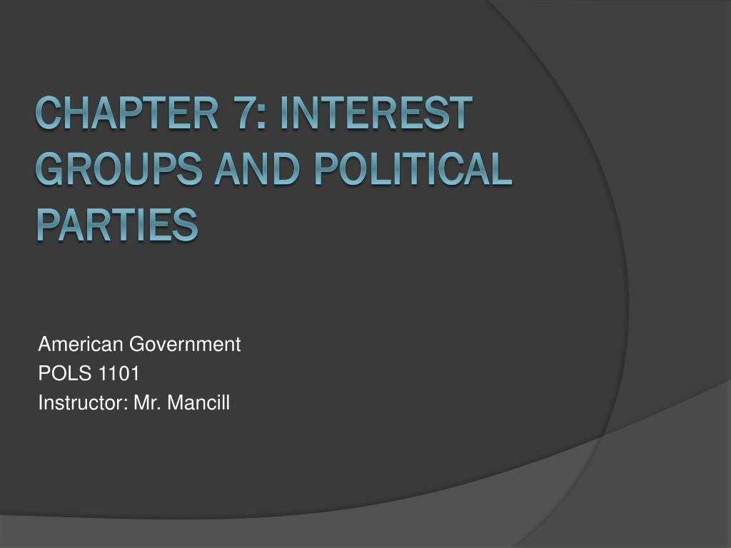 american government pols 1101 instructor mr mancill l.