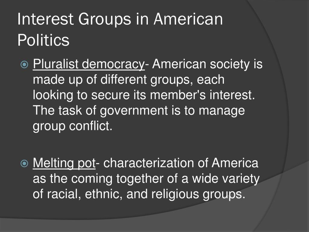 Interest Groups in American Politics