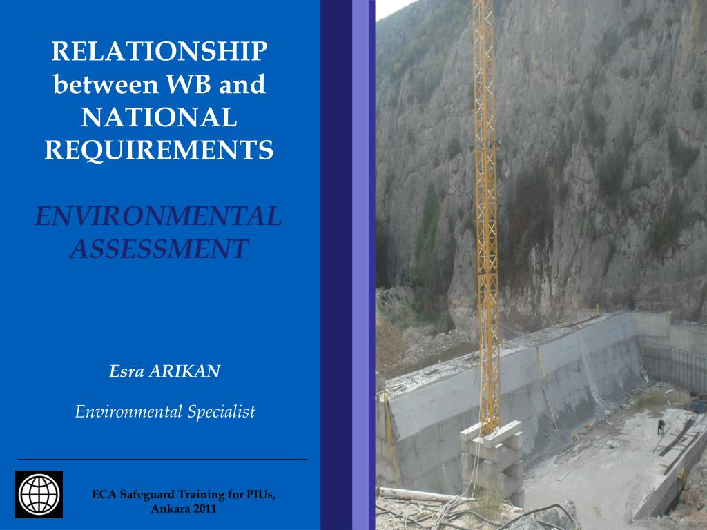 relationship between wb and national requirements environmental assessment l.