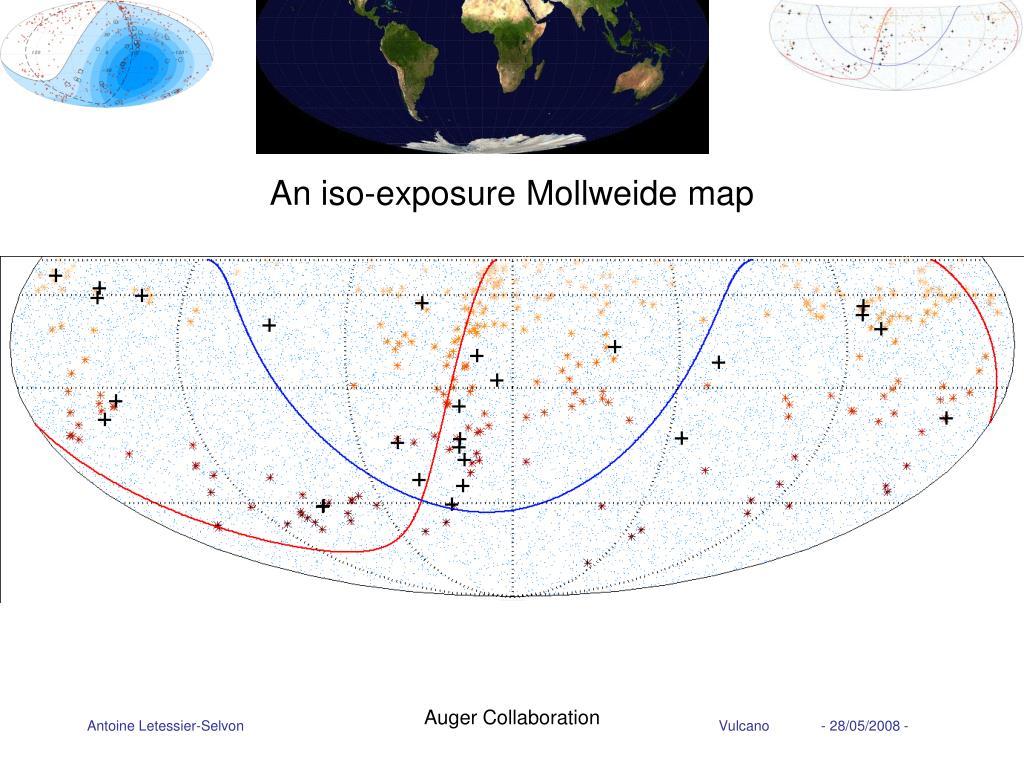 An iso-exposure Mollweide map