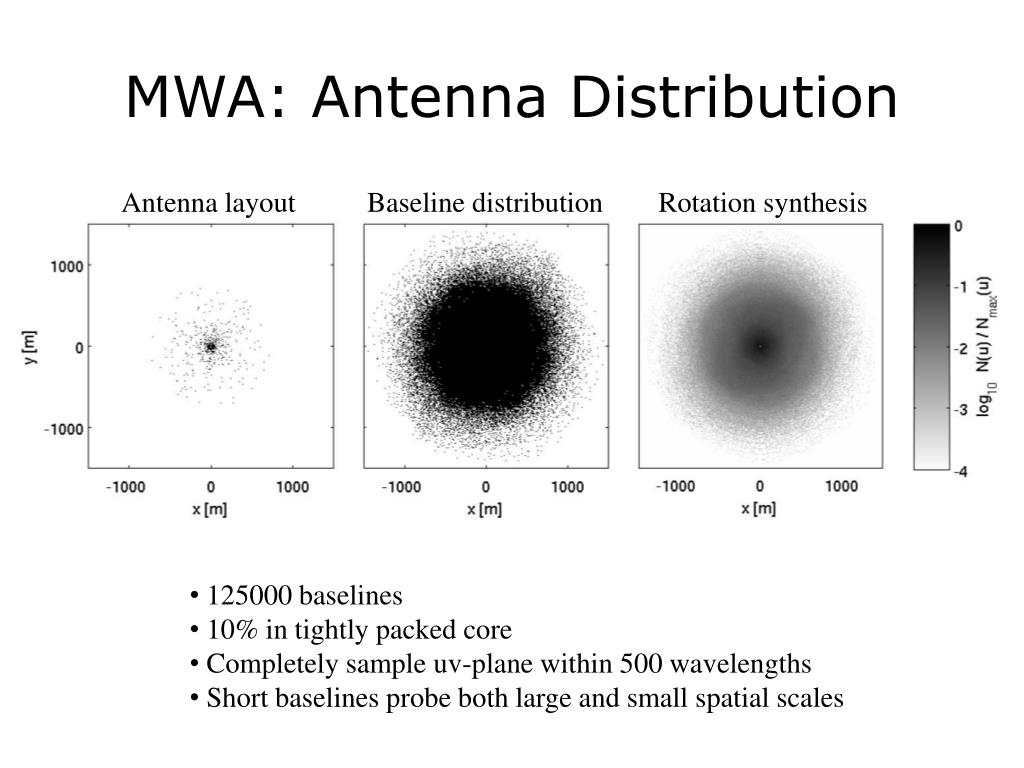 MWA: Antenna Distribution