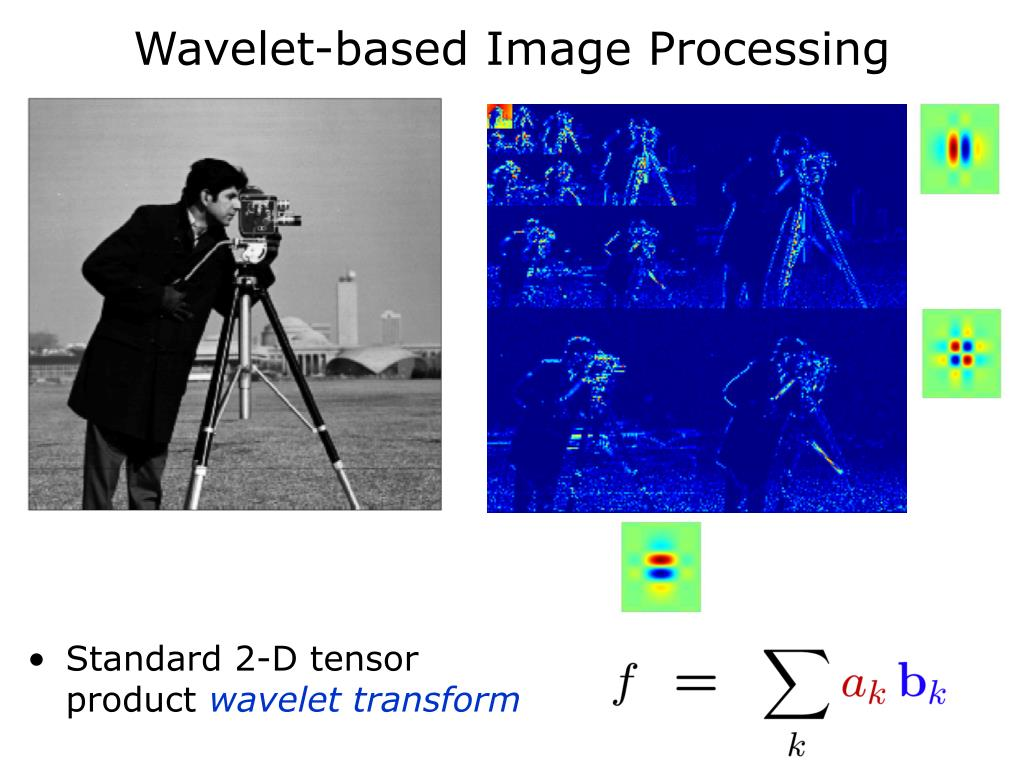 Wavelet-based Image Processing