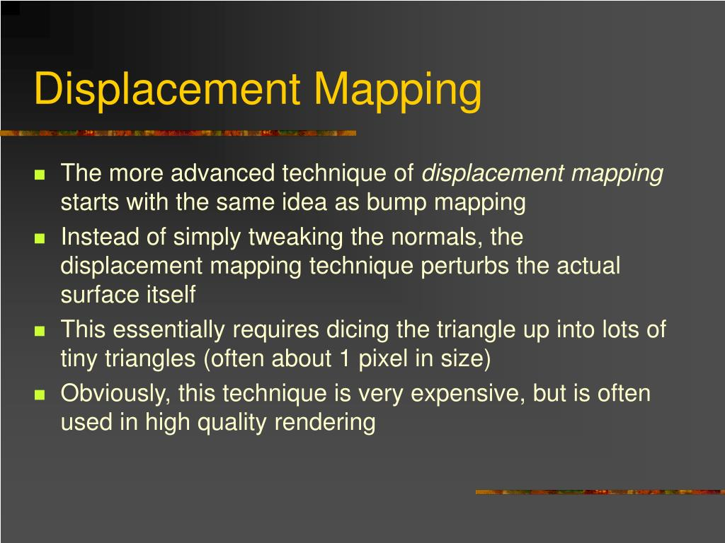 Displacement Mapping