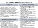 4 3 1 pioneering applications high energy physics