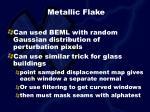 metallic flake