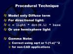 procedural technique31