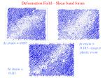 deformation field shear band forms