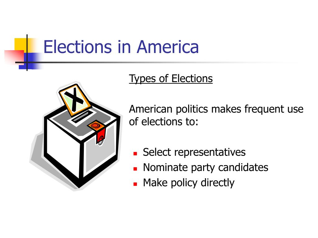 Elections in America