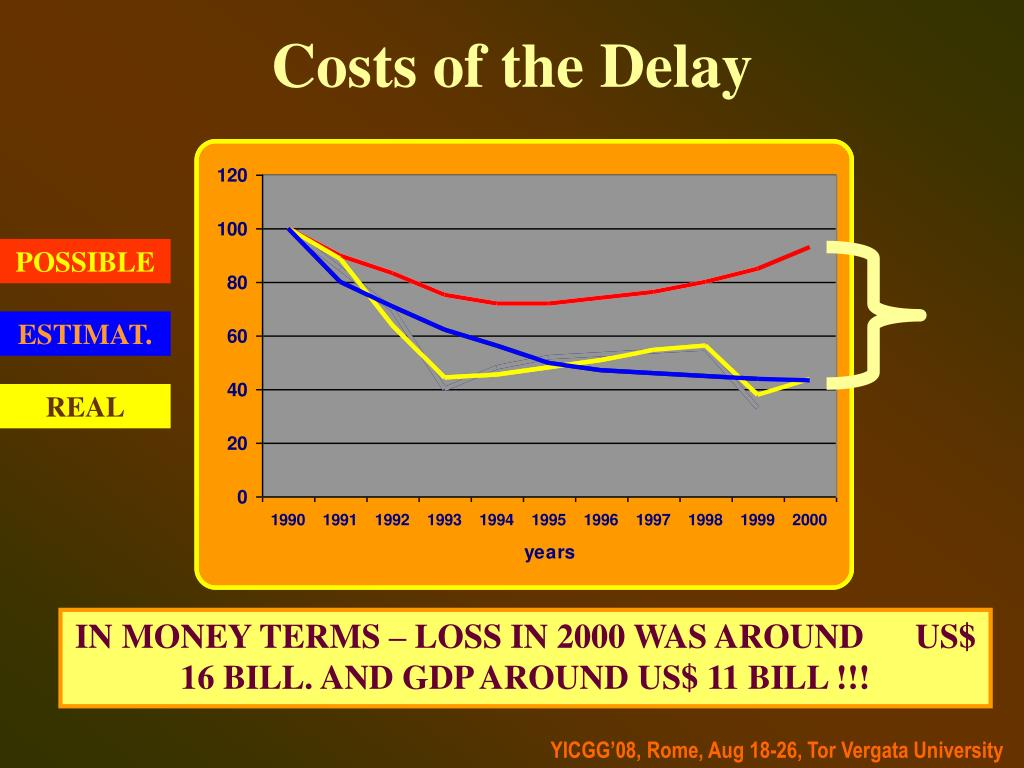 Costs of the Delay