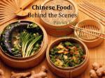 chinese food behind the scenes