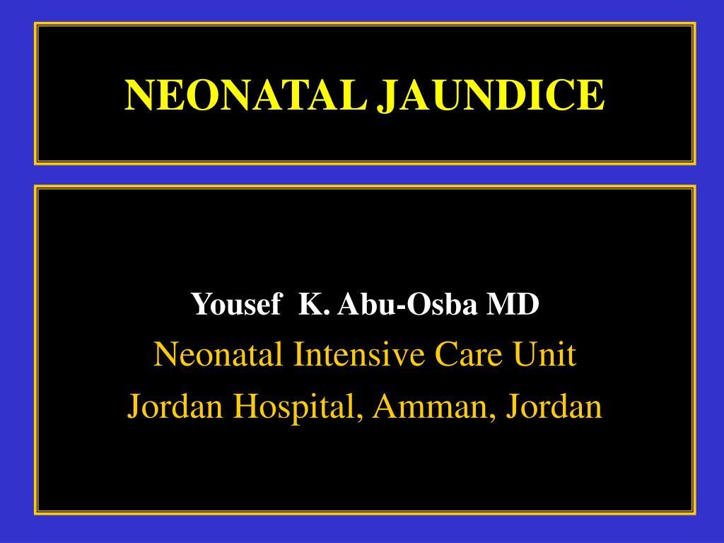 neonatal jaundice l.