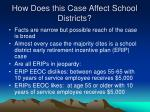 how does this case affect school districts
