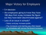 major victory for employers
