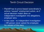 tenth circuit decision