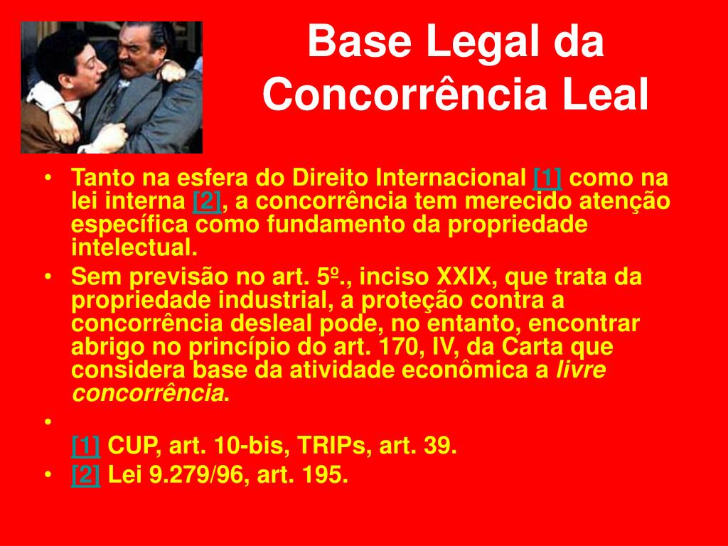Base Legal da Concorrência Leal